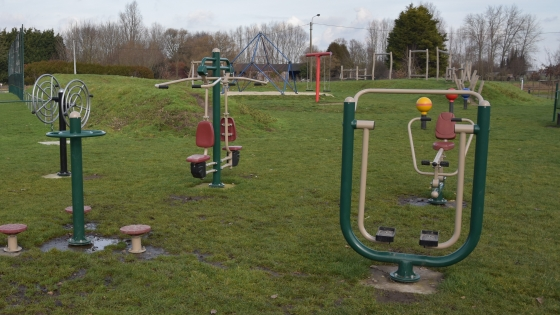 Outdoor fitness Hulste